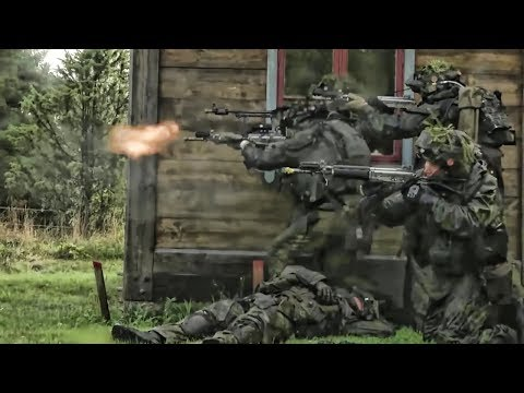 Swedish & Finnish Troops Team With U.S. Marines • Aurora 17