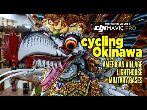 Cycling Okinawa | Military bases, American Village and the Lighthouse