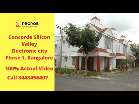 concorde-silicon-valley-electronic-city-phase-1-bangalore-|-sales-8448496407-|-actual-video