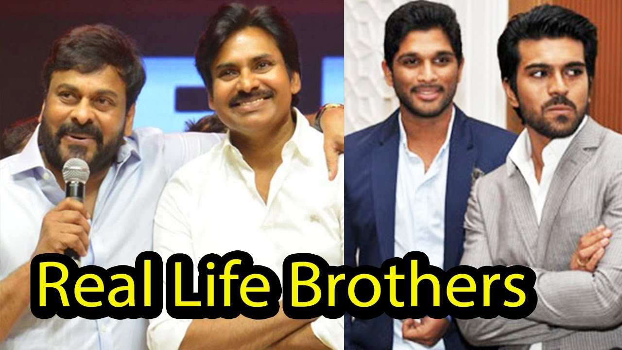 10 South Indian Actors Who Are Real Life Brothers Family Time