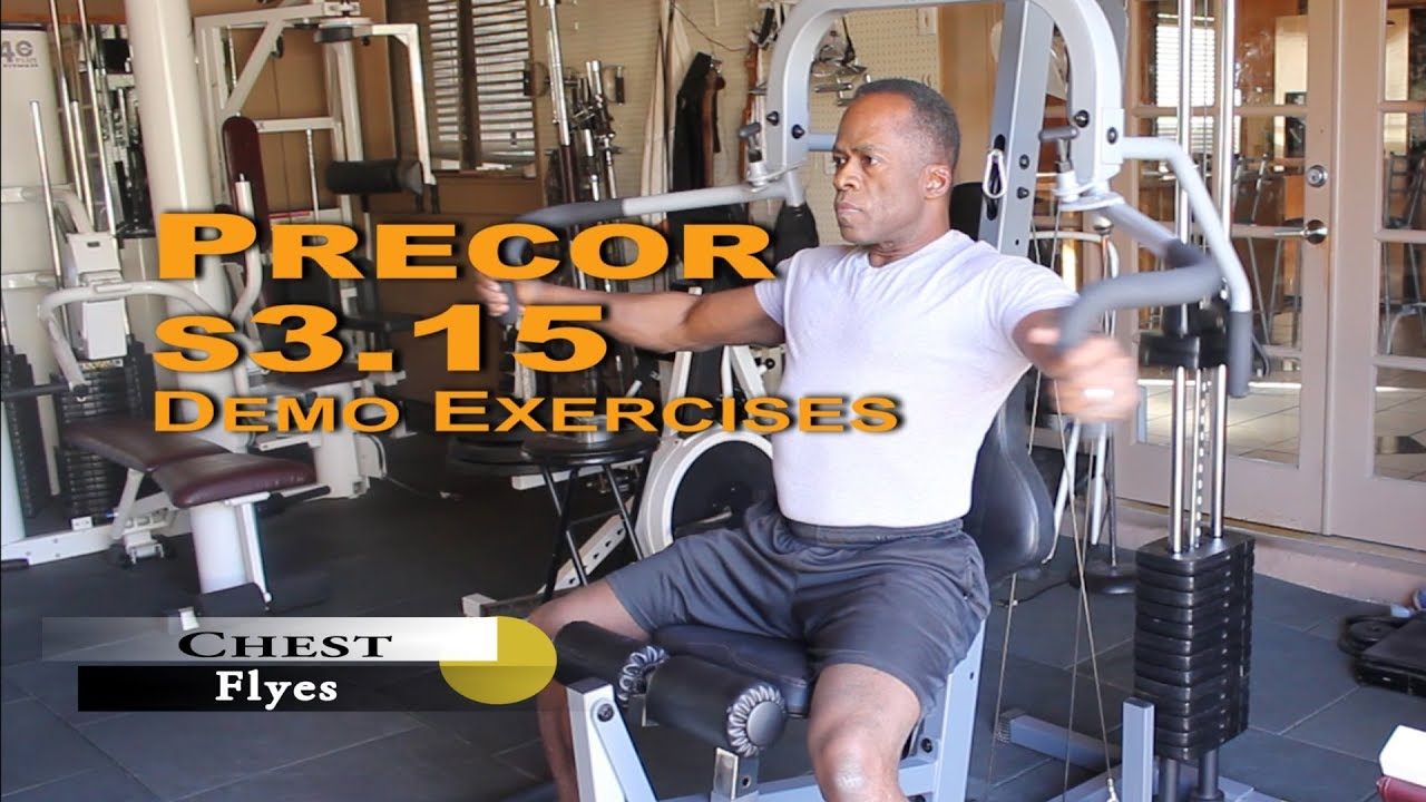 Dr gene james precor s3.15 demo exercises youtube