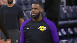 Los Angeles Lakers vs Minnesota Timberwolves | October 29, 2018