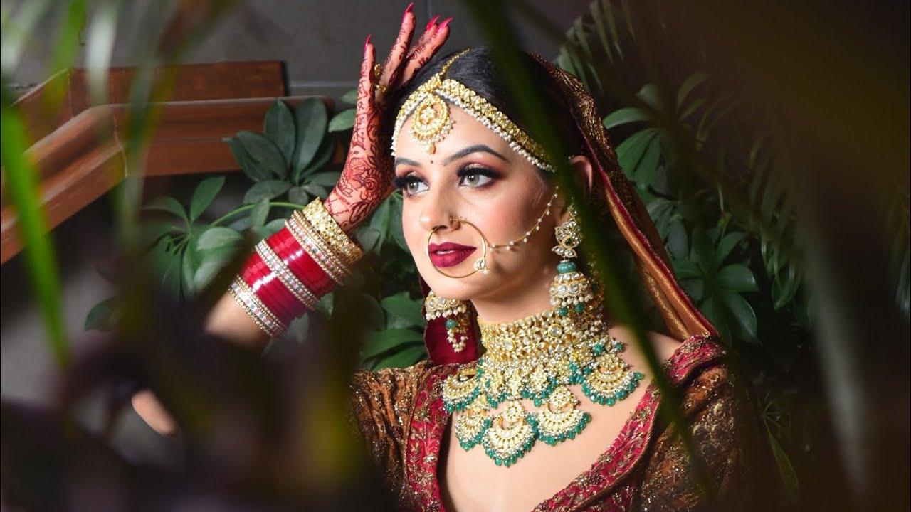 I believe in Dark Lips, Sometimes! Makeup by Parul Garg
