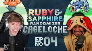 VINNY'S UGLY CRY... | Pokemon Ruby and Sapphire Randomized Cagelocke Ep 4