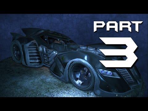Batman: Arkham Asylum Walkthrough Part 3 - BATMOBILE