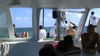 Catamaran trip in Mauritius