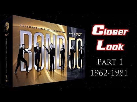 Bond 50 Blu-ray Set Closer Look - Part 1: 1962-1981