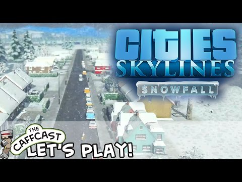 Cities: Skylines SNOWFALL (ALL DLC) Heating Our Homes #6