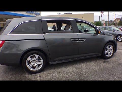 2013 Honda Odyssey White Plains, New Rochelle, Westchester, Scarsdale, Greenwich, NY U22968P