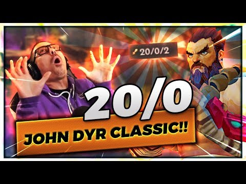 20/0 TIGERDYR JOHN DYR CLASSIC TOPLANE   LITERALLY 1V5 - Trick2G