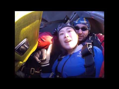 Juan Fan's Tandem skydive!