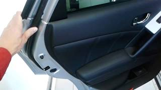 Nissan Murano (Ниссан Мурано): Как открыть заднюю дверь