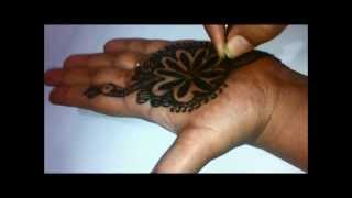How To Draw Peacock With Henna, Easiest Way, DIY at Home For Beginners, Eid And Teej