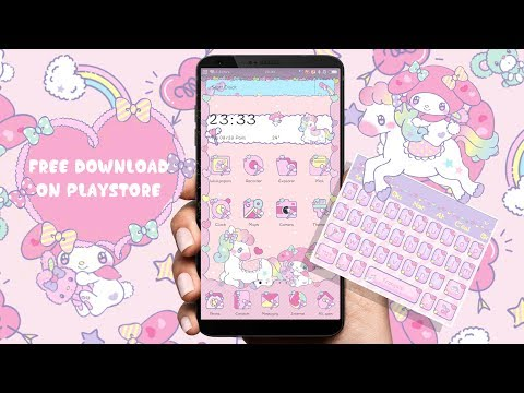 Cute Android Theme Feat Pet Game - FREE