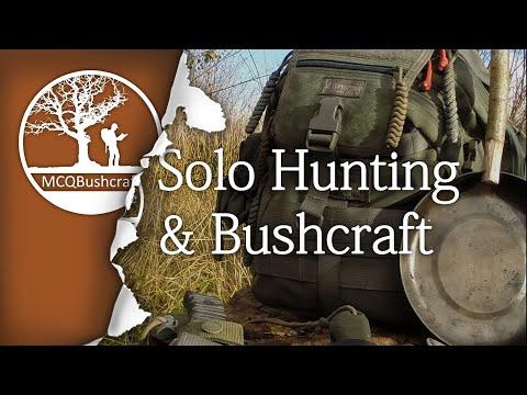 Solo Three Day Hunting & Bushcraft