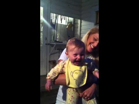 Baby Laughing!! HYSTERICAL!!