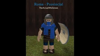 Roblox Rome Joining Legion XII