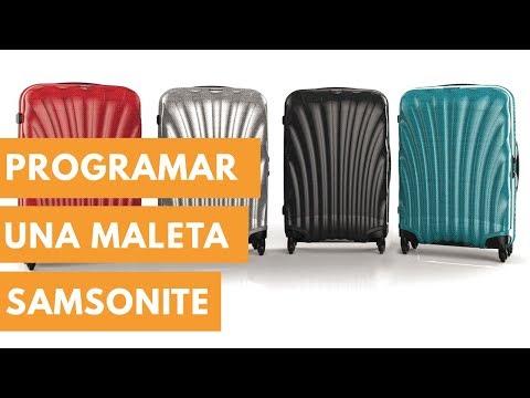 Programar Maleta Samsonite Bolsos Palacio Youtube