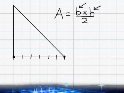 Area - Area Of A Triangle - YouTube