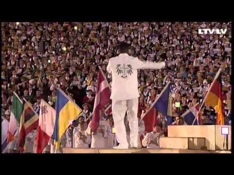 OH HAPPY DAY - World Choir Games 2014, Riga (50'000 People Singing A Worship Song)