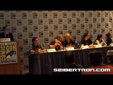 IDW's Digital-First Comics panel SDCC 2012 part 1\/2 - Seibertron.com