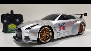 Hyper Charger Nissan Skyline RC Car Unboxing