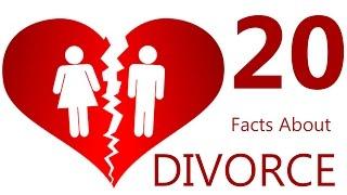 Facts About Divorce - 20 Facts About Divorce Statistics