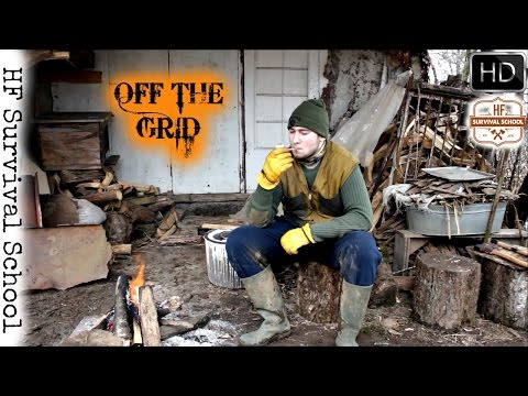 Living Off The Grid Adventure - Hunting , Cooking , Survival - HD Video