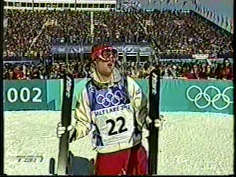 Moguls Ryan Johnson 2002 Winter Olympics Salt Lake CIty