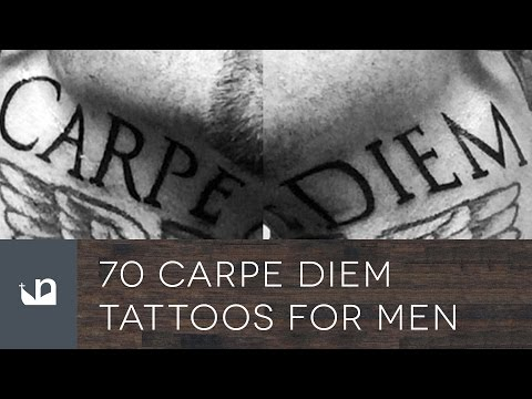 70 Carpe Diem Tattoos For Men