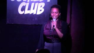 Kyra Sims at the Greenwich Village Comedy Club - March 27th 2015