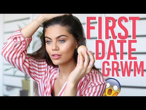 GET READY WITH ME FOR A DATE.. REAL TIME