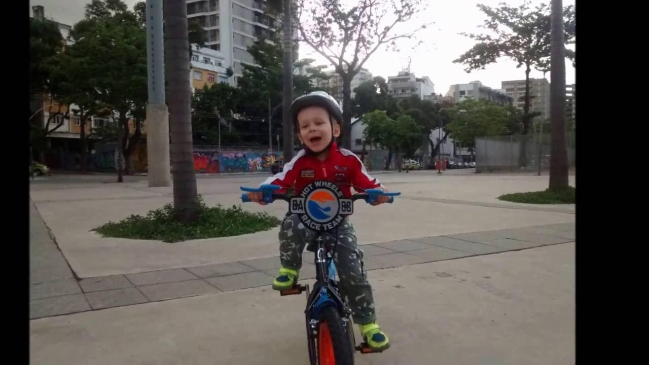2855f8ef2 PETER  Montagem e Teste da Sua Nova Bicicleta. CALOI HOT WHEELS ARO ...
