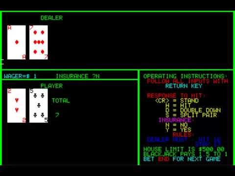 Compucolor I Ii Blackjack Casino Games Isc Intelligent Systems