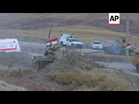 Peshmerga launch attack on IS-held villages