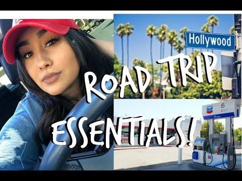 ROAD TRIP ESSENTIALS 2018! |  Stephanie Cordero