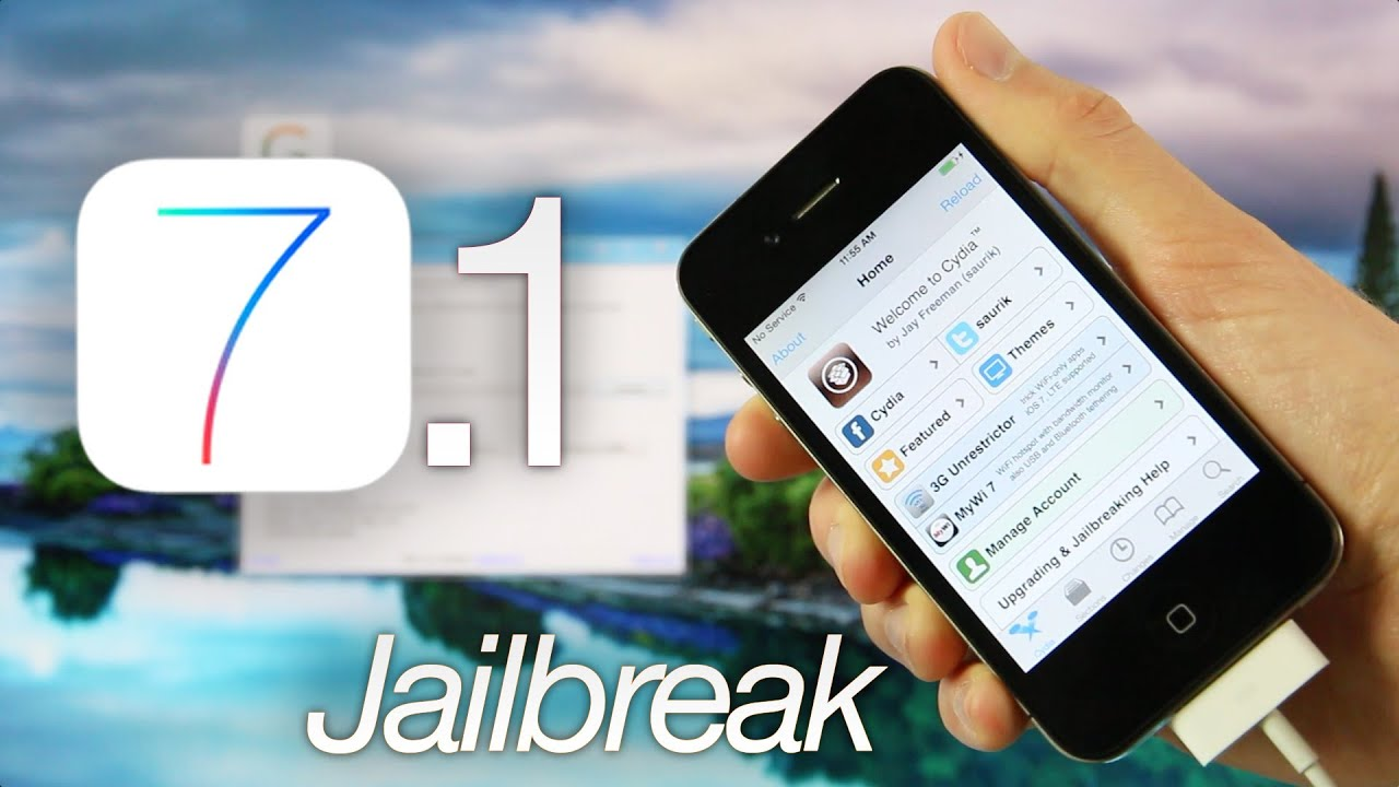 new jailbreak 7 1 ios tethered iphone 4 geeksn0w windows cydia youtube. Black Bedroom Furniture Sets. Home Design Ideas