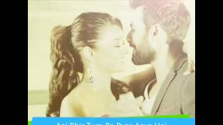 Aaj Phir - Acoustic Version - Arijit - HaTe StOrY II (Lyrics)