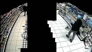 Fahndung nach Supermarkt-Erpresser: Video des Verdächtigen