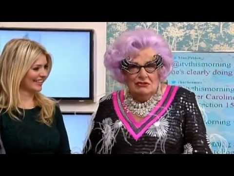 Dame Edna Everage on This Morning - 17th November 2011