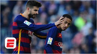 Why is Gerard Pique getting involved with Barca's transfer business surrounding Neymar? | La Liga