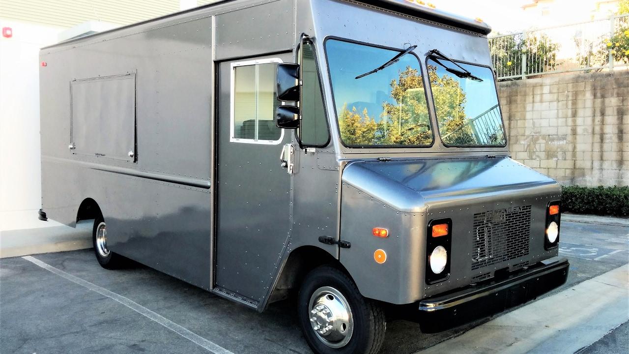 Step Van For Sale >> Artillery Gray Grumman Olson Double Window Photos & Video - YouTube