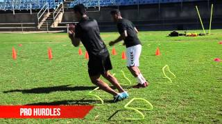 PSG Speed and Agility - Pro Sports Group SAQ drills