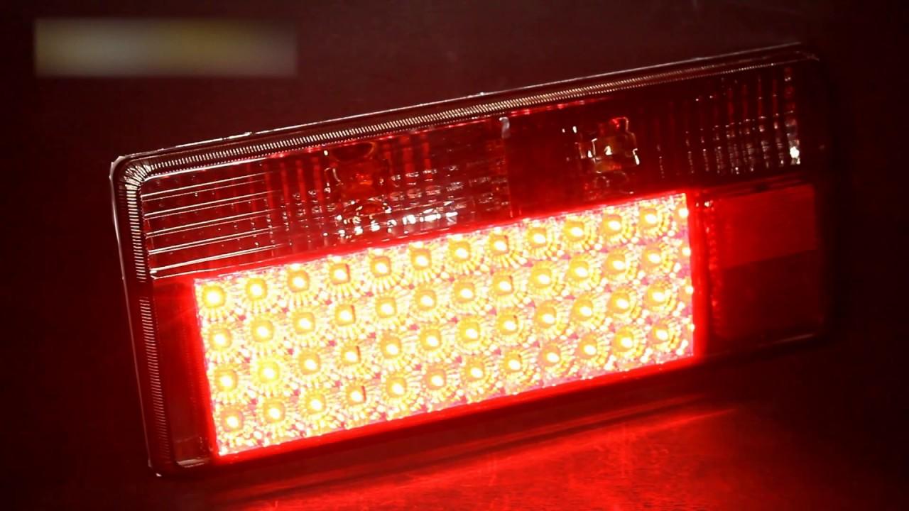 Задние фонари ВАЗ 2105, 2107 - YouTube