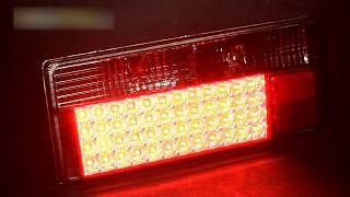 видео Светодиодный задний фонарь Ваз 2104-2105-2107