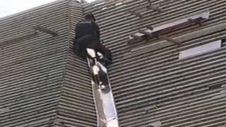 Oprava střechy na kostele sv. Pavla na Pouchově
