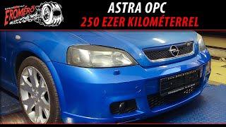 Totalcar Erőmérő: Astra OPC 250 ezer kilométerrel