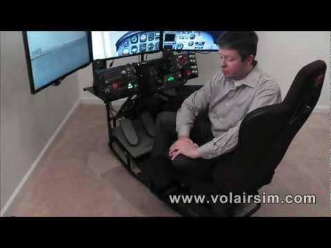 Volair Sim - HOTAS / Side Stick Mounts Explained