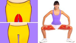 10 Exercises to Tone Your Thighs in 10 Minutes a Day