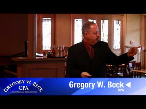 Gregory W. Beck, CPA on Individual Provisions of the 2012 Tax Relief Act (2 of 3)